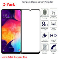 2-Pack For Samsung Galaxy A70 2019 Full Cover Tempered Glass Screen Protector