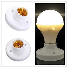 New E27ES Edison Hot Screw Cap Socket Light Bulb Holder Fitting Lamp Fixing Base