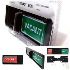 Vacant Occupied Use Privacy Room Sign Indicator For Home Office Clinic Restroom