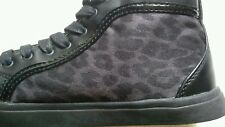 LADIES / Girls ANNA FIELD 3.5 (UK) 36 (EUR) LOVELY ANKLE BOOTS LEOPARD PRINT VGC