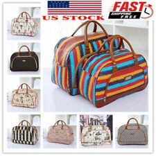 Womens Travel Luggage Bag Holdall Hand Girl's Weekend Carry on Gym Handbag Tote