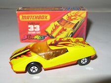 MATCHBOX SUPERFAST No.33 DATSUN 126X 'STREAKERS' MIB