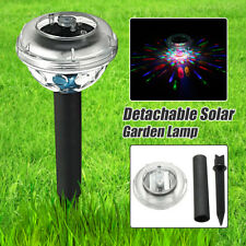 181W Power LED Disco Solar Light Lamp Garden Landscape Path Yard Fence Outdoor