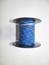 100 FOOT SPOOL 16 GAUGE GXL HI TEMP WIRE BLUE/WHITE STRIPE AUTOMOTIVE   FEET
