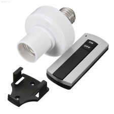 F73B E27 Socket Cap RC Wireless Remote Control Light Lamp Bulb Holder Switch