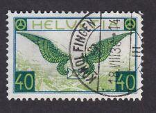 Switzerland Swiss 1923/40 Air 40c VFU very fine used