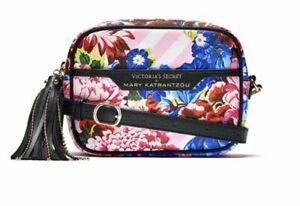 Victoria's Secret X Mary Katrantzou Convertible City Crossbody Floral Print Pink