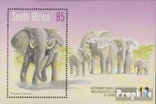 Zuid-Afrika Blok 75 (volledige uitgave) gestempeld 1999 Afrikaanse Elephant