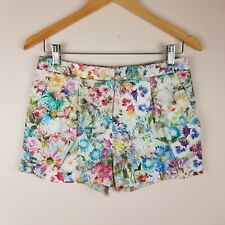 Forever New Shorts Size 8 Floral Print