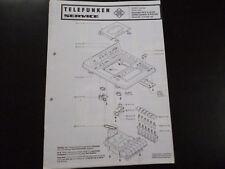 Original Werkstattanleitung Telefunken studio center 5031 hifi recorder HCC6B