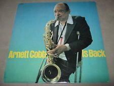 ARNETT COBB Quartet Is Back ORIGINAL SEALED LP Progressive 7037 Derek Smith Mraz