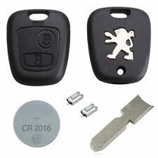 Peugeot DIY Repair Kit 2 Button Remote Car Key Fob Case 406 307 407 106 206 306