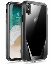 Poetic For iPhone X / iPhoneXS Shockproof Rugged [Heavy Duty] Case Cover Black