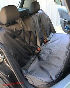 SKODA FABIA -Heavy Duty Black Waterproof Car REAR Protector SEAT COVERS