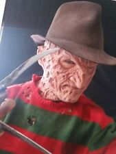 Freddy Krueger Part 4 Hyper Realistic spfx Silicone Mask Nightmare Halloween