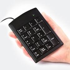PURE PS/2 18keys Numeric Number Keypad Num pad Keyboard For Notebook Windows