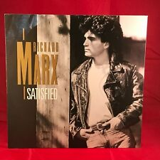 "RICHARD MARX Satisfied 1989 UK 3-track12"" vinyl single EXCELLENT CONDITION"