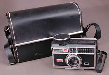 Kodak Instamatic 400 Camera-Faux Leather Case-Paperwork-VTG-Rangefinder