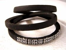 Ariens Factory Original 72047 drive belt - older 5,6,7 hp two stage snow blowers