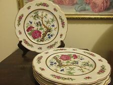 """Black Knight Selb Bavaria Germany Set Of 5 Luncheon  Plate 9 1/4"""""""