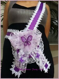 Baby Shower Mom To Be It's a Boy or Girl Sash Ribbon with Corsage You Pick Color