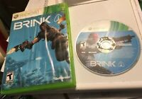 Brink (Microsoft Xbox 360, 2011) Fast Shipping With Manual