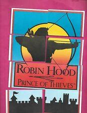 RARE 1991 ROBIN HOOD COMPLETE PUZZLE 8 CARD LOT  (INV# C3193)