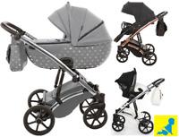Kinderwagen 3in1 TAKO LARET IMPERIAL  Kinderwagen + Sportwagen + Autositz