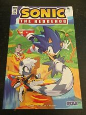 """Sonic The Hedgehog#4 Incredible Condition 9.4(2018) Hesse Cover """"Sega"""""""