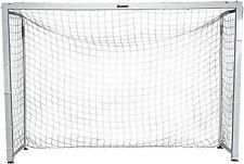"""Franklin Sports Official Size Aluminum Futsal Goal 9'10"""" x 6'7"""" Soccer Ball HD"""