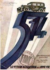 P.Codognato- FIAT 514 automobile un grande successo - Futurismo plebiscito 1930