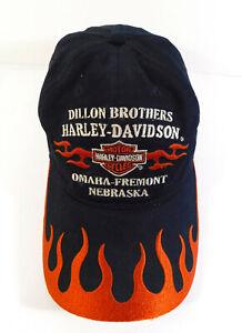 HARLEY DAVIDSON Dillon Brothers Omaha Fremont Nebraska Adjustable HAT Cap