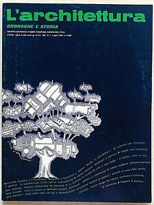 L'architettura cronache e storia n. 369 1986 Bruno Zevi Carel Weber Rotterdam