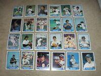 1982 Fleer  Detroit Tigers Team Set (24)  NrMt
