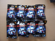 Star Wars - Hasbro MicroMachines Series 3 - 8x Sealed Blind Bags/Packs
