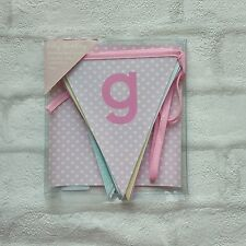 Baby girl baby bunting 10 flags brand new
