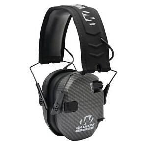 Walker's Razor Slim Shooter Carbon Electronic Folding Hearing Protection Earmuff