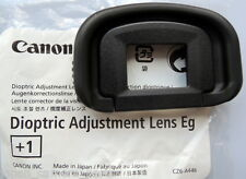 Canon Dioptric Lens Eg+1 for EOS 1DIV,1DX,1Dlll and 1Dslll,5Dlll,5DS,7D.7Dll