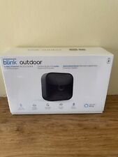 New Blink Outdoor Smart Security System with One Wireless HD Camera Black - Seal