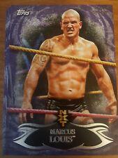 2015 Topps WWE Undisputed NXT #24 Marcus Louis PURPLE #d 49/50