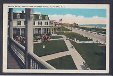 Postcard Beach Drive, North From Windsor Hotel, Cape May, NJ