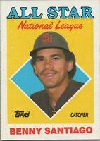 Tim Raines All Star National League 1988 Topps Baseball Card #403 Montreal Expos