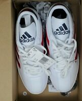 Adidas Copa Super Mens White & Red SIZE 7 M US New In Box Leather