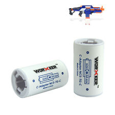 Worker Modify AA Size Turn to C Turning set  Blasterparts  for Nerf Toy 2PCS