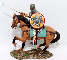 Del Prado Medieval Warriors Lombard Cavalryman 11th Century Lead Die-cast Statue