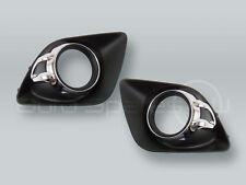 Fog Light Grille PAIR fits 2010-2012 MITSUBISHI Outlander Sport RVR ASX