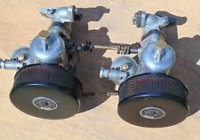 Classic SU Twin Carburettors H4 Carbs Austin Healey 100/4  Works Circa 1953