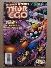 Maximum Security Thor vs Ego #1 Marvel Comics 2000 One Shot 9.4 Near Mint