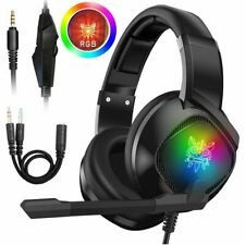 3.5mm K15 Gaming Headset LED MIC Headphones for PC Laptop PS4 Slim Xbox One Xt