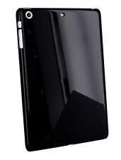 Hülle Plastik Bumper Überzieher für Apple iPad Mini -Schwarz - Schutztasche